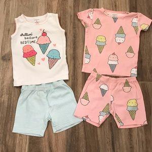 Carter's Shorts Pajama Sets 3T